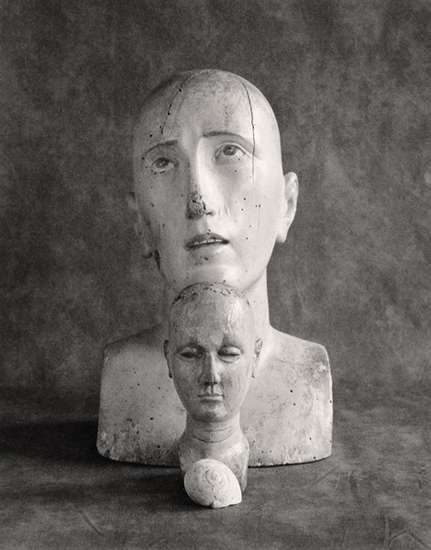 Mannequin Heads and Shell